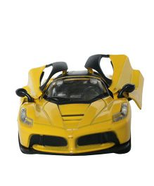 Adraxx Dashing Toy Die Cast Car - Yellow