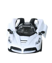 Adraxx Dashing Toy Die Cast Car - White
