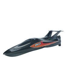 Adraxx High Speed Remote Control Racing Boat Toy - Black