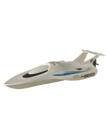 Adraxx High Speed Remote Control Racing Boat Toy - White