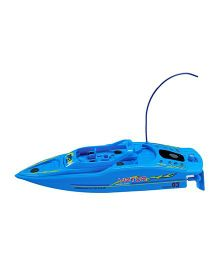 Adraxx High Speed Racing Boat - Blue