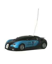 Adraxx 4 Channel Die Cast Mini Remote Control Car - Blue Black