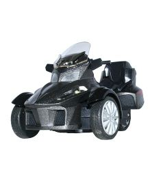Adraxx 3 Wheel ATV Die Cast Bike Toy - Black