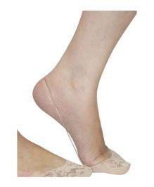 Pink Flamingo Sling Back Shoe Liner - Beige