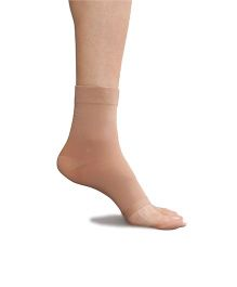 Pink Flamingo Open Toe Socks - Skin