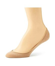 Pink Flamingo Antislip Shoe Liner - Beige - Small