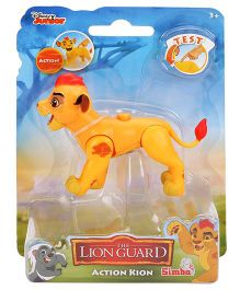 Lion Guard Action Kion Moveable Figurine - Yellow