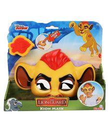 Lion Guard Kion's Mask And Badge - Yellow