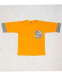 Plan B Plain Joe T-Shirt - Yellow