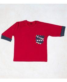 Plan B Cherry Plain Joe T-Shirt - Red & Cherry
