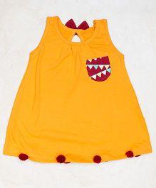 Plan B Plain Jane Dress - Yellow