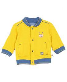 FS Mini Klub Full Sleeves Jacket - Yellow Blue
