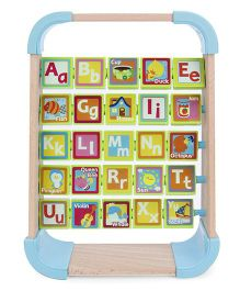 BKids See & Spin Alphabet Rack - Multicolor