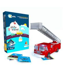 Shifu Travel Augmented Reality Learning Games - iOS & Android (60 Vehicle Cards)