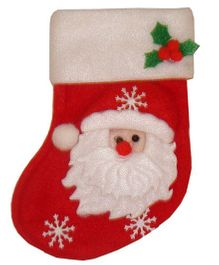 X'Mas By Shopaparty 2 Pieces Stocking Candy Bag - Red