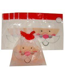 X'Mas By Shopaparty 6 Pieces Santa Drawstring Candy Bag - Multicolour