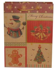 X'Mas By Shopaparty Red Merry Christmas Gift Bag - Red - Multicolour