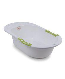 Babyhug Bath Tub - White Green