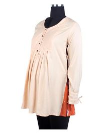 Nursing Tunic - Peach