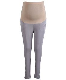 Kriti Ethnic Maternity Leggings - Grey