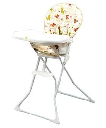 R for Rabbit Little Muffin The Portable High Chair - Beige