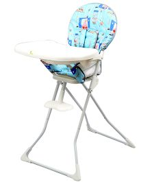 R for Rabbit Little Muffin The Portable High Chair - Sky Blue