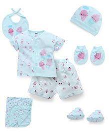 Simply Clothing Gift Set - Aqua