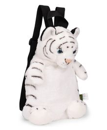 Wild Republic Tiger Backpack White & Black - 36 cm