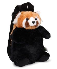Wild Republic Red Panda Backpack Brown & Black - 30 cm