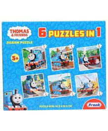 Frank Thomas & Friends 6 in 1 Jigsaw Puzzle - 36 Pieces