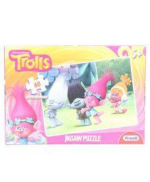 Frank Trolls Jigsaw Puzzle Pink - 60 Pcs