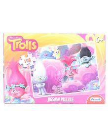 Frank Trolls Jigsaw Puzzle Pink - 108 Pcs