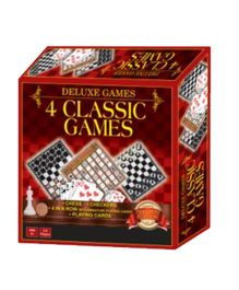 Sterling Deluxe Game 4 Classic Games
