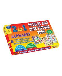 Sterling 2 In 1 Alphabet Puzzles And Cute Picture Book