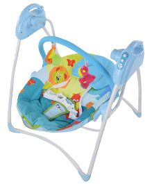 Toyhouse 2 in 1 Folding Electronic Swing - Blue