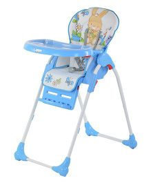 Toyhouse Baby High Chair Premium - Blue