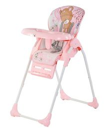 Toyhouse Baby High Chair Premium - Pink