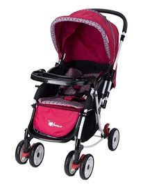 Toyhouse 2 in 1 Rocking Stroller M2077 - Red