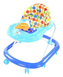 Toyhouse Smiley Car Baby Walker - Blue