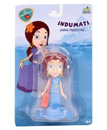 Indumati Figurine With Bag Blue - 11 cm
