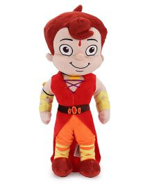 Chhota Bheem Plush Toy Red And Orange - 40 cm