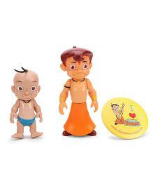 Bheem And Raju Action Figures - Multi Color