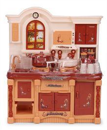 Chhota Bheem Kitchen Cabinet - Brown Maroon