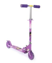 Chutki Theme 2 Wheel Scooter - Purple
