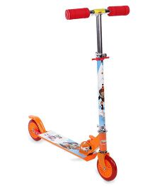Chhota Bheem And Friends 2 Wheel Scooter - Multi Color