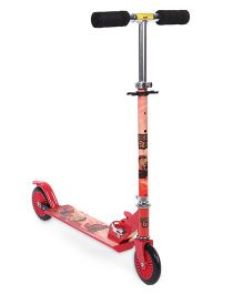 Mighty Raju Theme 2 Wheel Scooter - Red