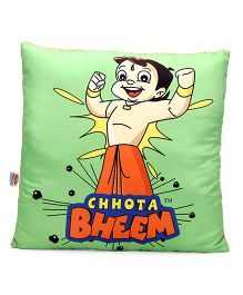 Chhota Bheem Cushion - Green And Orange