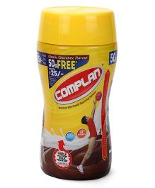 Complan Classic Chocolate Flavour Jar - 450 g Plus 50 g