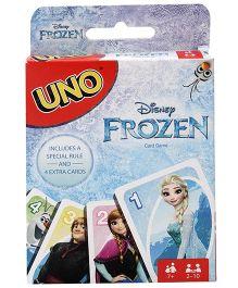 Mattel Uno Card Game Frozen Theme - 112 Cards