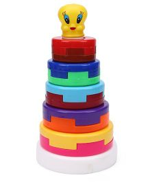 Virgo Toys Stack A Ring Big With Net Packing - Multicolor